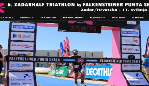 6. ZADARHALF TRIATHLON by FALKENSTEINER PUNTA SKALA Zadar/Hrvatska - 11. svibnja 2019